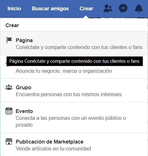 Como Crear tu Fan Page de Facebook